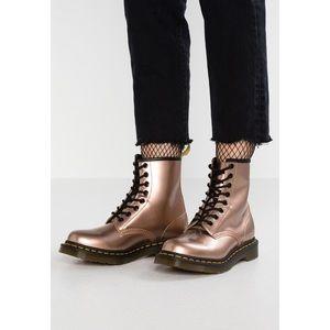 ◾️Dr Marten 1460 Vegan Metallic Rose Gold Boot
